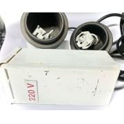 Conjunto Elétrico P/ Filtro Uv Cubos 75W Modelo Antigo 220V