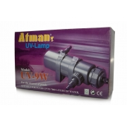 Corpo do Filtro Uv Atman 9w Sem Reator e com acessórios