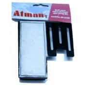 Kit Refil P/ Filtro Atman Hf-0100 (Original) 2 un
