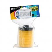 Refil Esponja Filtrante Amarela C/ Copo - Boyu sp I, II, II