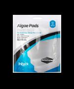 Seachem Algae Pads Esponja Limpeza Acrilico Aquários 3 Unid