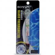 Termômetro Analógico Boyu Bt 01 Com Ventosa Para Aquários