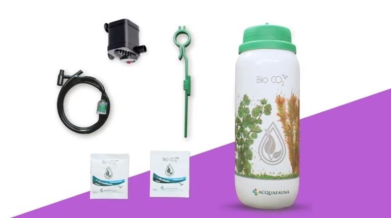 Acquafauna Bio Co2 - Kit De Co2 Com Refil E Bomba