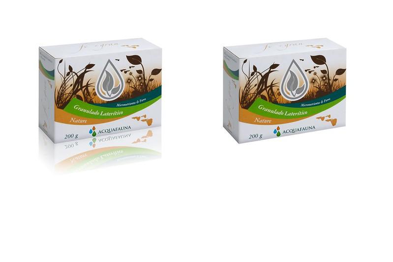 Acquafauna Granulado Lateritico 200g Nutrientes Ferro + Gran