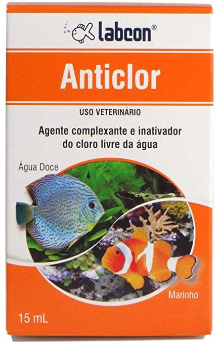Alcon Labcon Anticlor Anticloro Para Aquário Remove Cloro