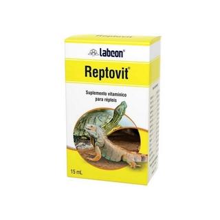 Alcon Labcon Reptovit Suplemento Vitamínico P/ Répteis 15ml