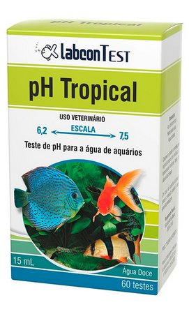 Alcon Labcon Teste Ph Para Aquário Água Doce Tropical