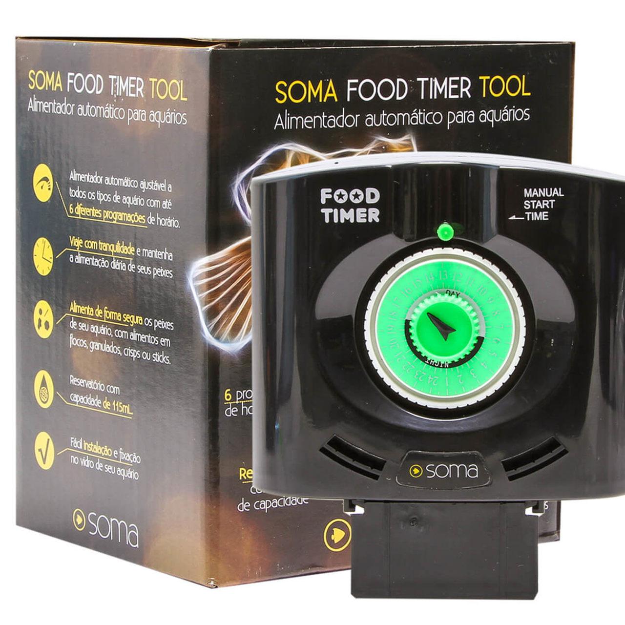 Alimentador Automático Para Aquário Food Timer Tool Soma