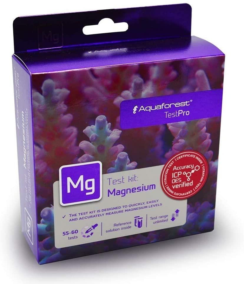 Aquaforest Teste Kit Magnésio (Mg) Aquário Marinho