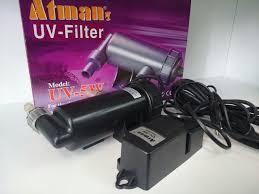 Atman Filtro Uv 5w Para Lagos De Até 1000 Litros