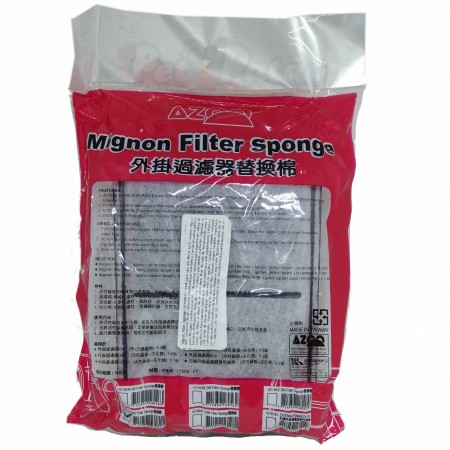 Azoo Refil Mignon Filtro Modelo 1000 Esponja