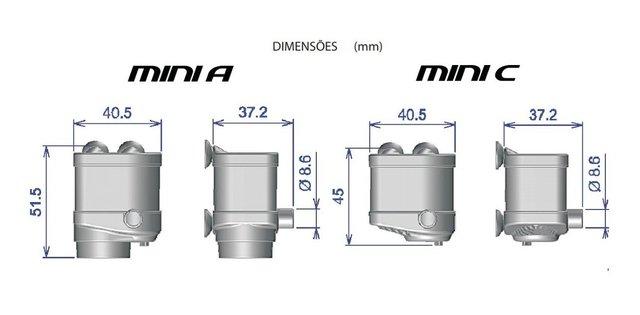 Bomba Submersa Sarlo Better Mini C 12 V Bivolt 70L/h