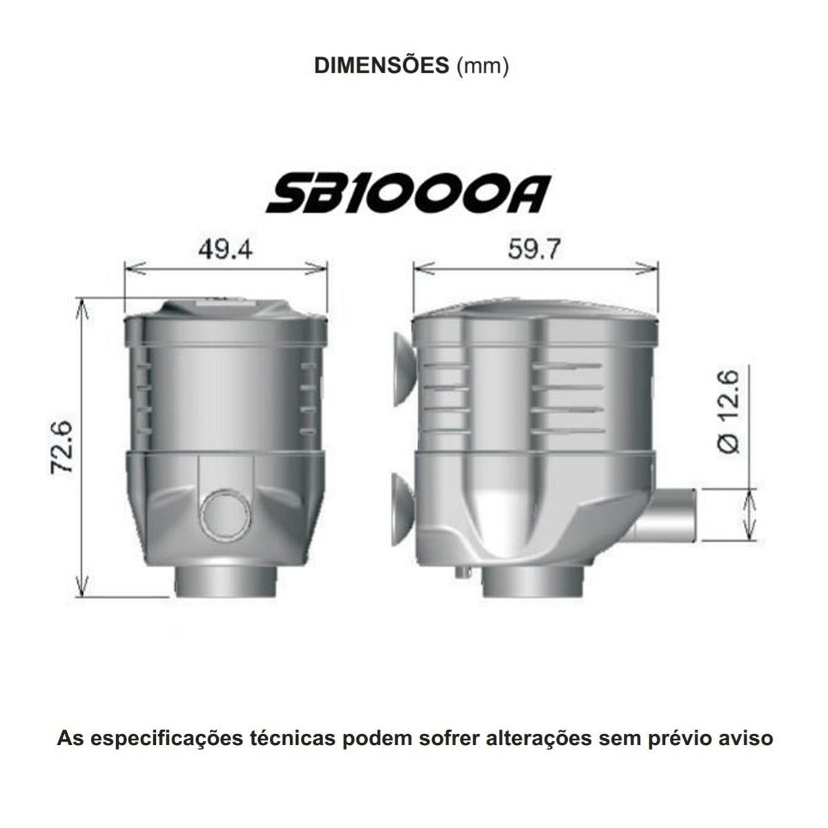 Bomba Submersa Sarlo Better SB 1000a