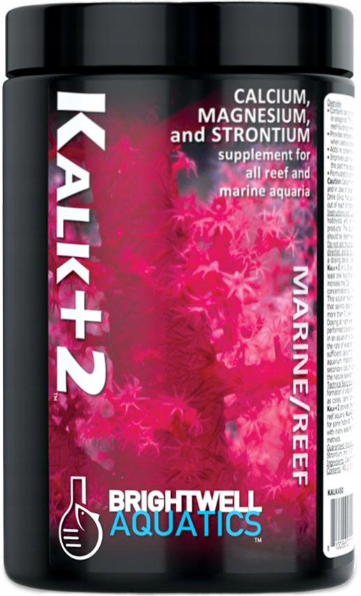 Brightwell Kalk+2 Suplemento Cálcio Magnésio Estrôncio 450g