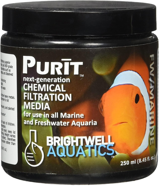 Brightwell Purit Carvão Ativado Premium P/ Marinho e Doce