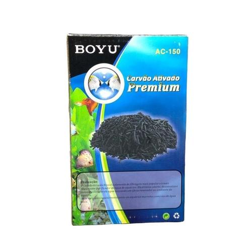 Carvão Ativado Premium Boyu Peletizado