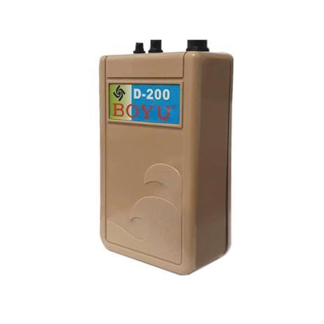 Compressor De Ar Boyu à Pilha D 200 Para Aquário