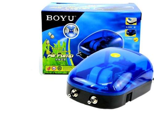 Compressor De Ar Boyu S 2000a 2x4l/min C/ 2 Saídas