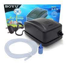 Compressor De Ar Boyu S 510 4 L/min 110v P/ Aquários