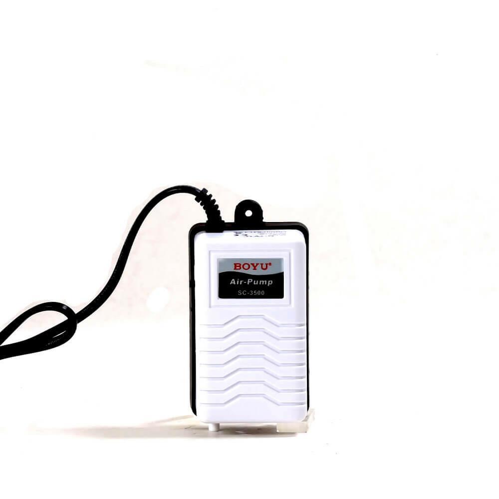 Compressor De Ar Boyu Sc 3500 Oxigenação Aquários