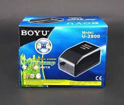 Compressor De Ar Boyu U 2800 Areação Aquario 2L/min