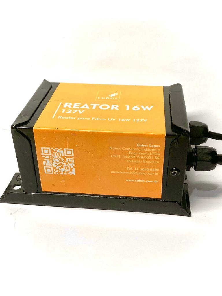 Conjunto Elétrico Para Filtro Uv Cubos 16W (Modelo Antigo)