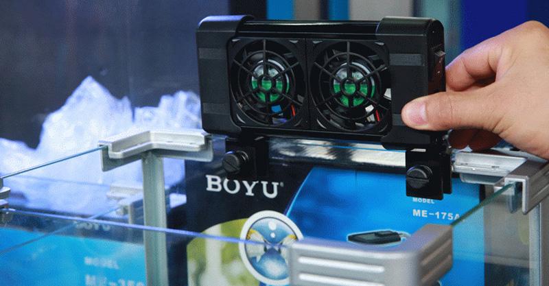 Cooling Fan Boyu Fs602 Cooler Resfriador P/ Aquários Bivolt