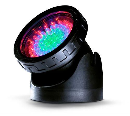 Cubos Spot Led P/ Lagos Multicor 5W 60 LEDS 220V (Semi-novo)