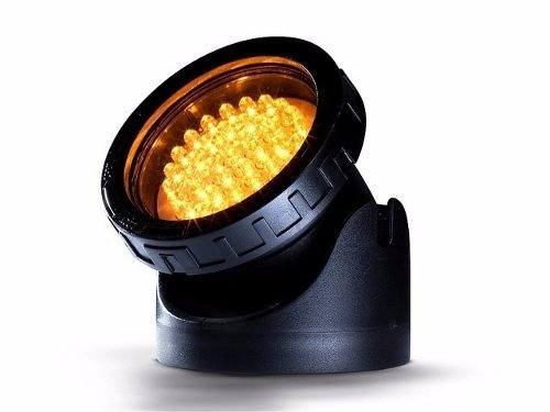 Cubos Spot Led Submerso P/ Lagos 3,6W 40 LEDS (AMARELO)220