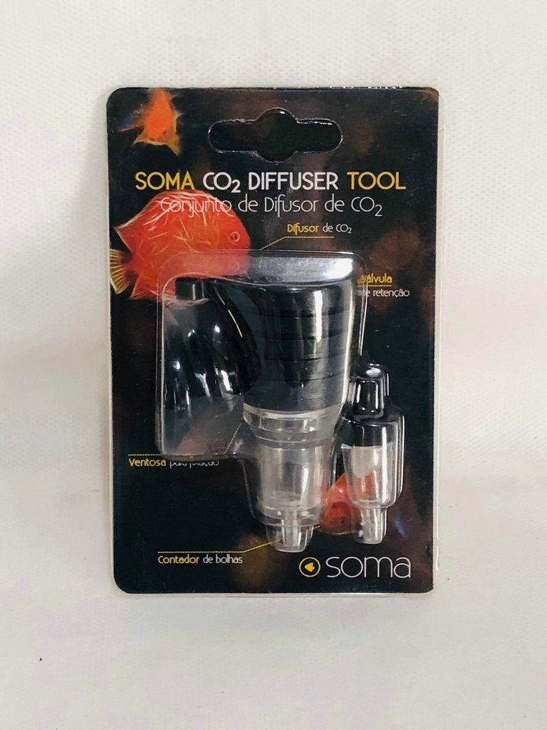 Difusor De Co2 Soma Diffuser Tool Aquário Plantado