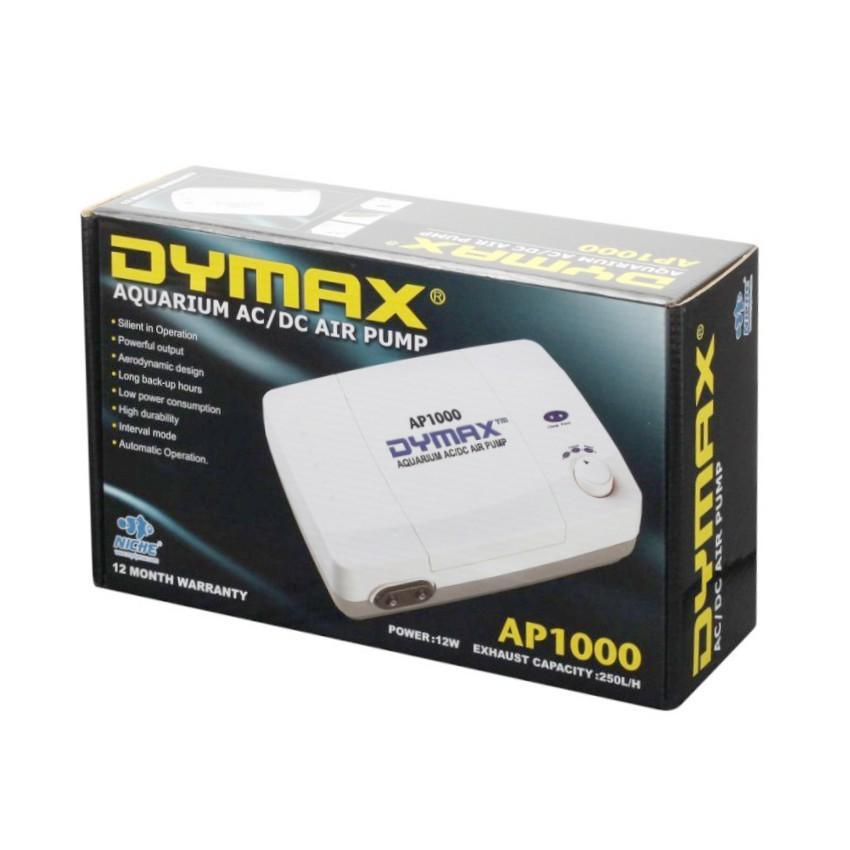 Dymax Compressor de Ar No-Break Aquário Ap1000 Bivolt