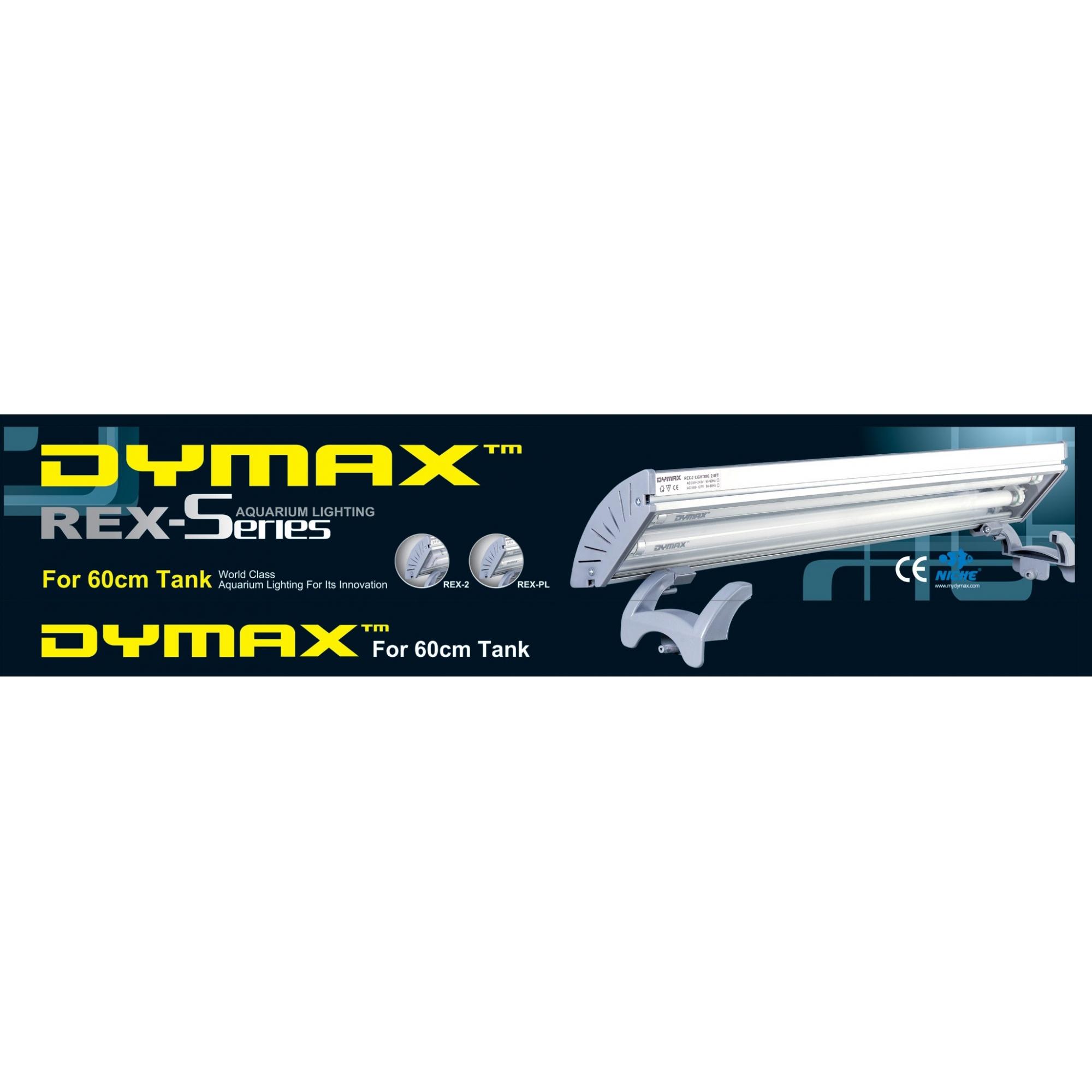 Dymax Luminária Pl Rex-Pld (2X 55W) 60cm 110V