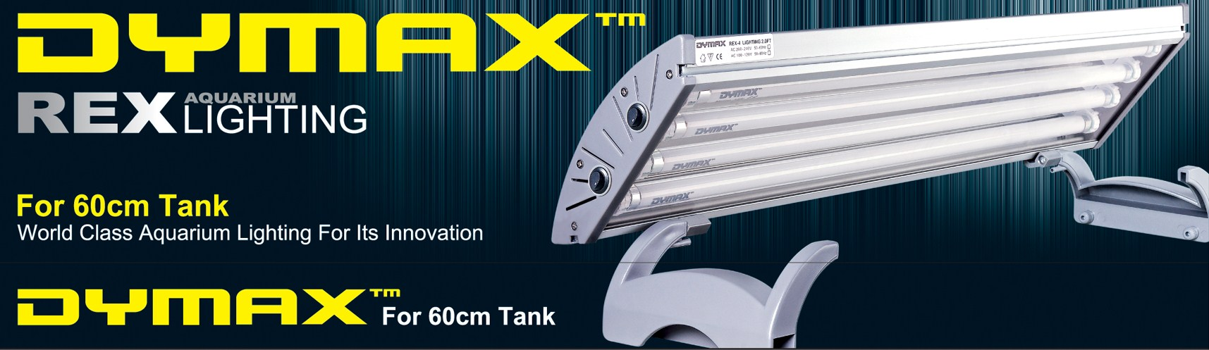 Dymax Luminária T5 Rex-4 (4X 14W) 80cm 110v