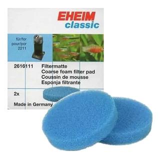Esponja Azul Do Filtro Eheim Classic 600 2217 2616171