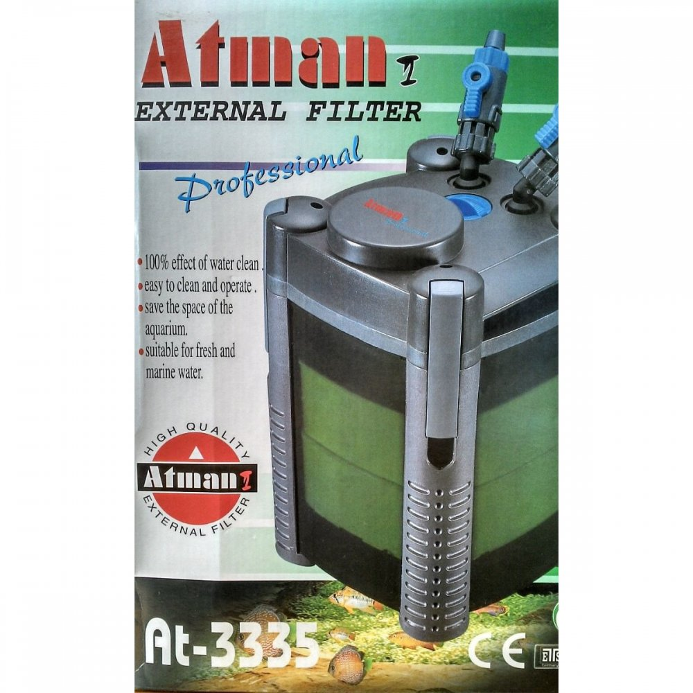 Filtro Externo Canister Atman At- 3335 2 Cestas 600l/h