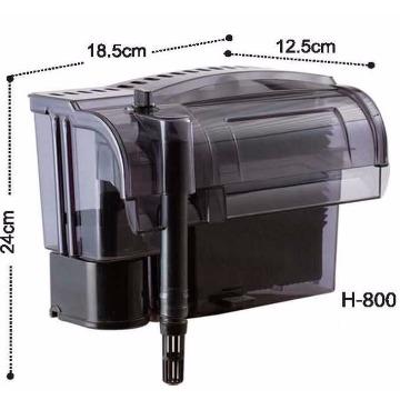 Filtro Externo Dophin H800 1020L/h P Aquário Até 200l 220v