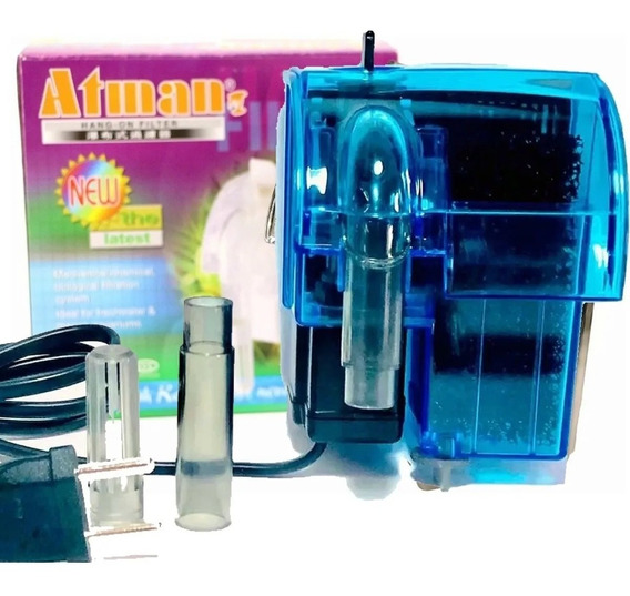 Filtro Externo Hang On Atman Hf-0100 160 l/h P/ Aquários