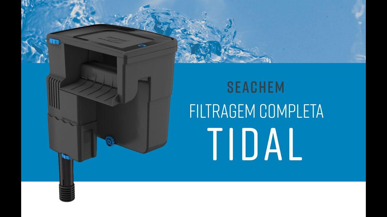 Filtro Externo Hang On Seachem Tidal 75 1.500L/h