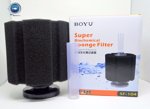 Filtro Interno De Espuma Boyu Sf 104 Para Aquários