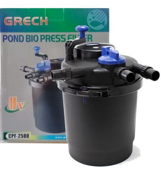 Filtro Pressurizado Grech Sunsun Cpf 2500 Uv 11w P/ Lagos