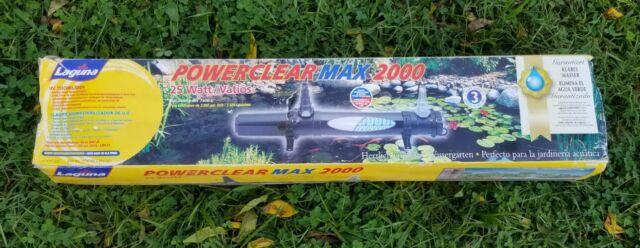 Filtro Ultravioleta Laguna Power Clear Max 2000 UV S/ REATOR