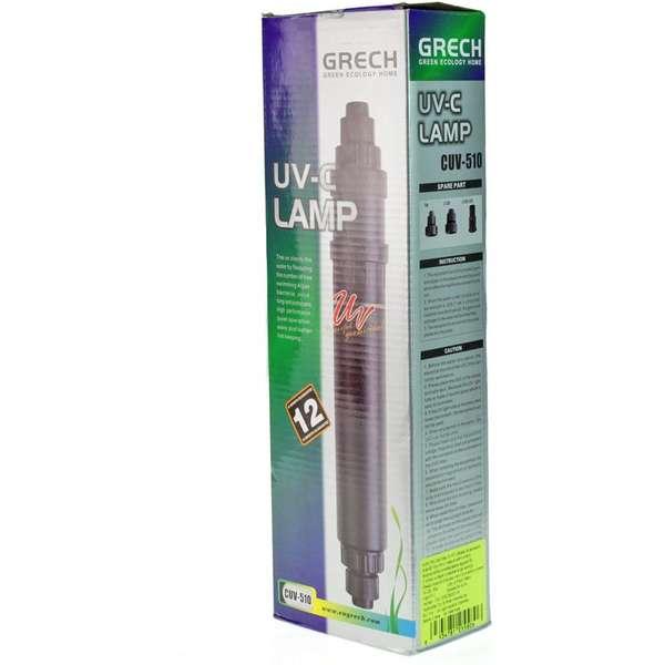 Filtro UV Aquário Sunsun Grech Cuv-510 C/ Lâmpada 10w