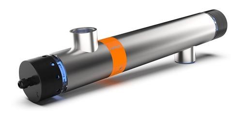 Filtro Uv Em Aço Inox Cubos 60W 1 1/2 Polegada P/ Lagos