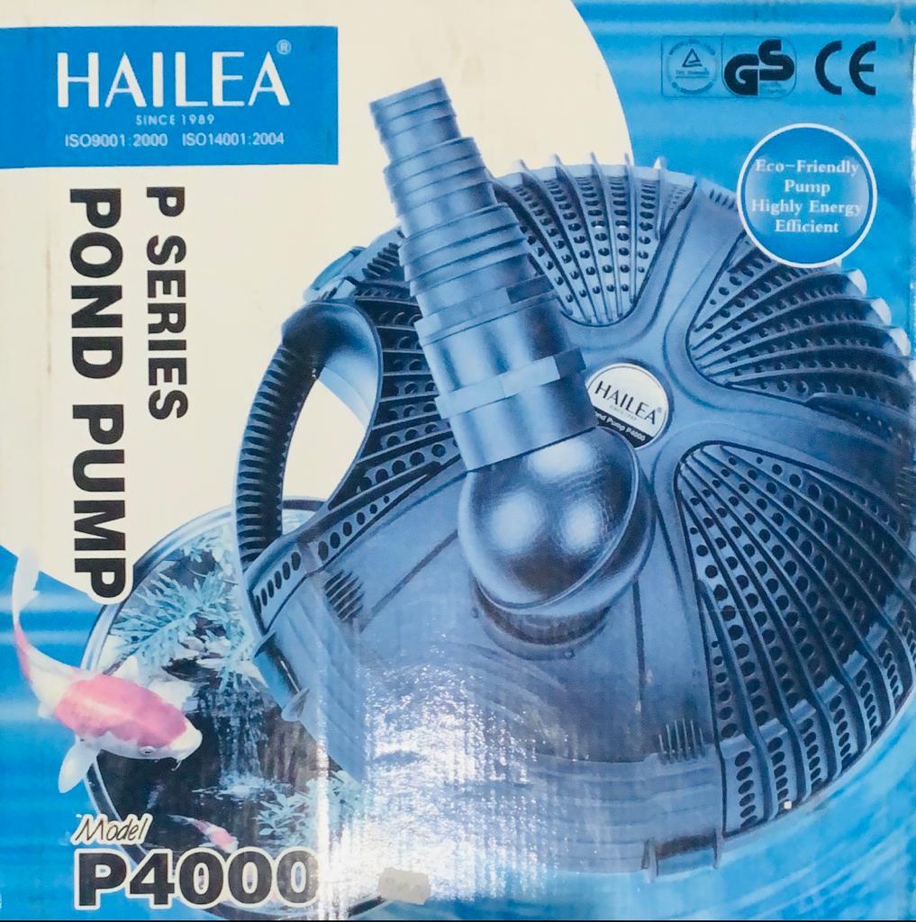 Hailea Bomba P/ Lago P-4000 3600 l/h Coluna 2m 45w 110v