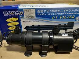 Hopar Filtro UV-626 11W C/ Bomba 1200L/H 110V