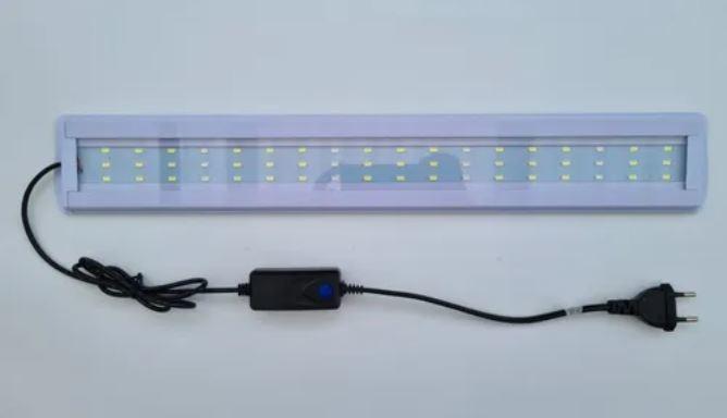 Luminária Hopar Led BL-500 Azul/Branco 18W 50 cm - Bivolt