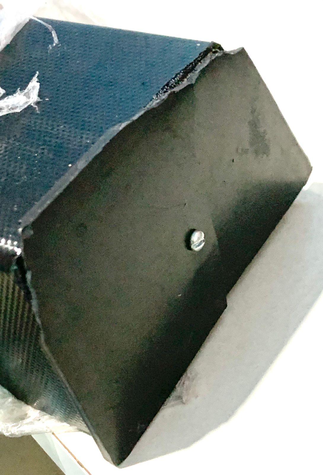 Luminária P Aquário Calha Dupla Incandescente 91cm C/ Avaria
