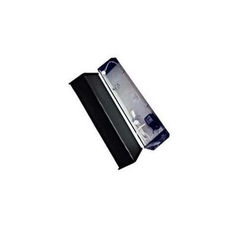 Luminária P/ Aquário Calha  Fluor 76cm T8 C/ Lâmpada Azul