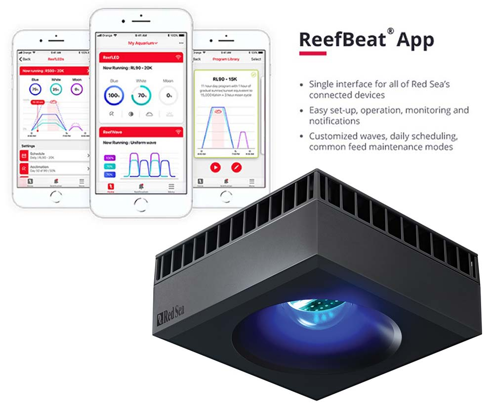 Luminária Red Sea Reef LED 50 Bivolt 50W