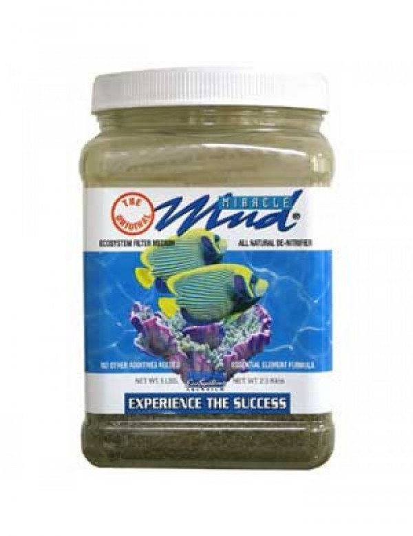 Miracle Mud Substrato para Refúgio Aquário Marinho 1,4kg